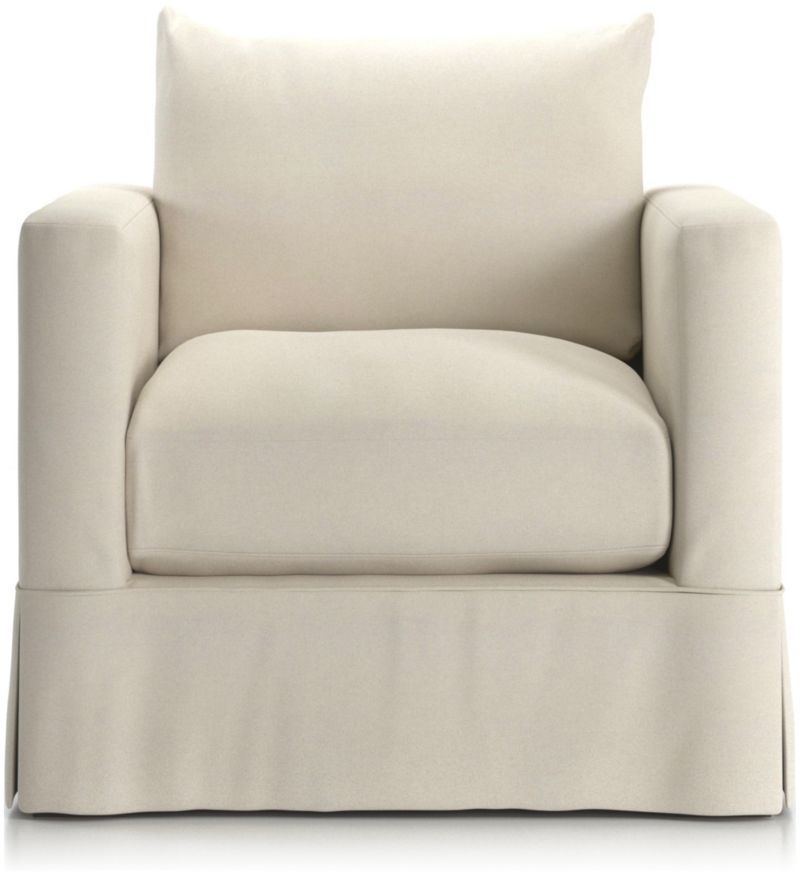 Willow Modern Slipcovered Chair Reviews Crate And Barrel Slipcovers For Chairs Slipcovers Nyc Furniture