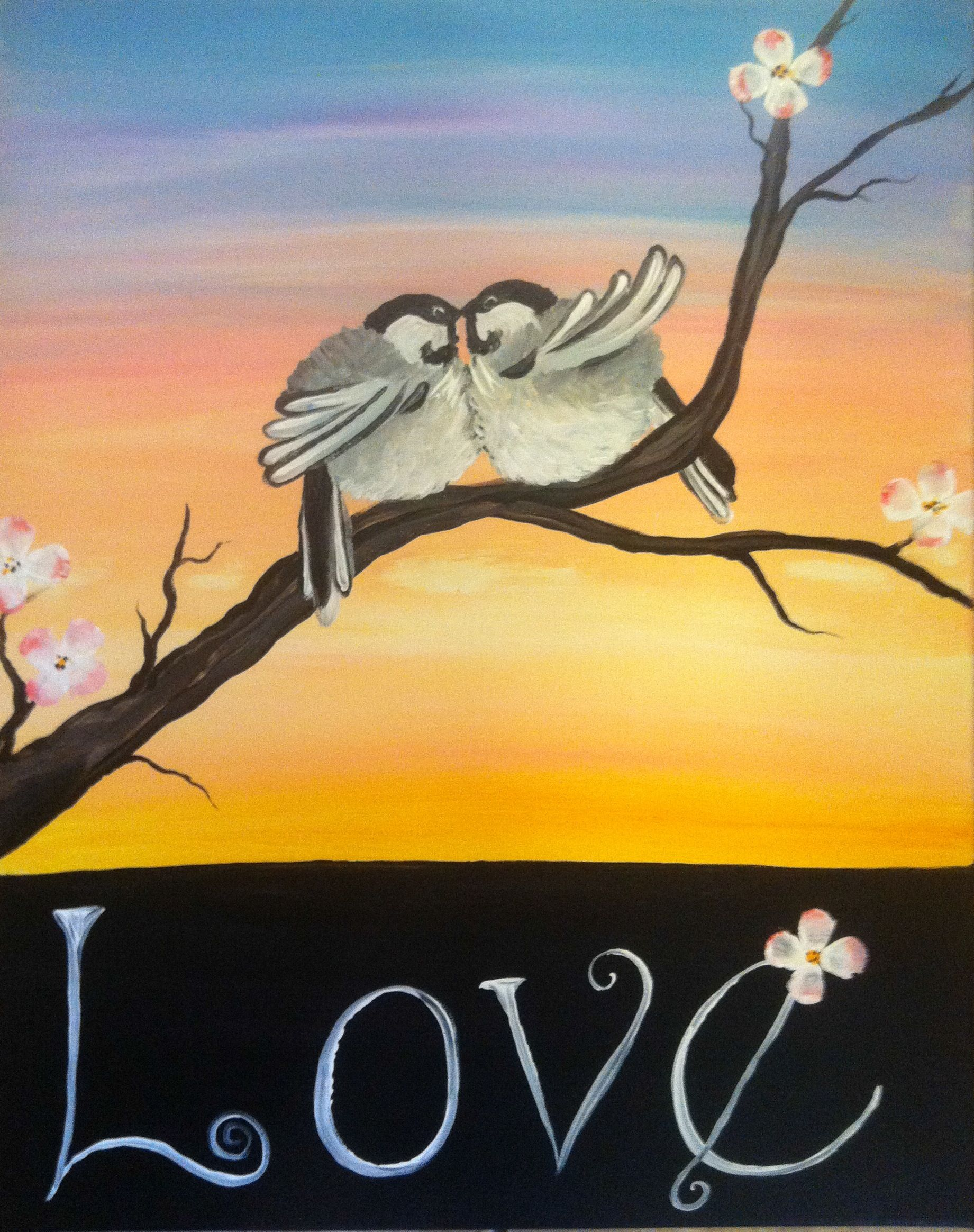Birds with Love in Color
