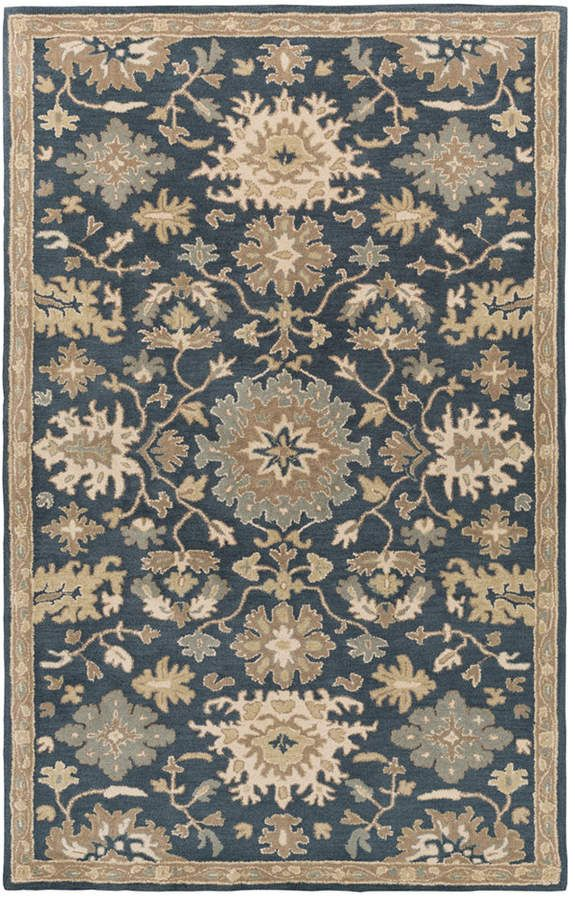 Surya Caesar Cae 1154 Navy 12 X 15 Area Rug With Images Area