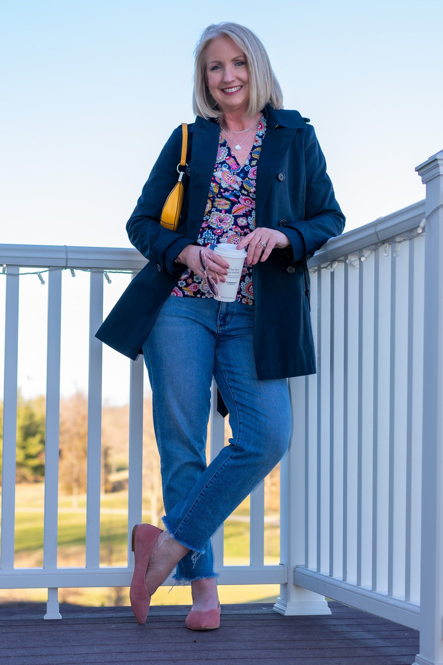 29 Spring 29 Trends to Wear with Jeans - Dressed for My Day in