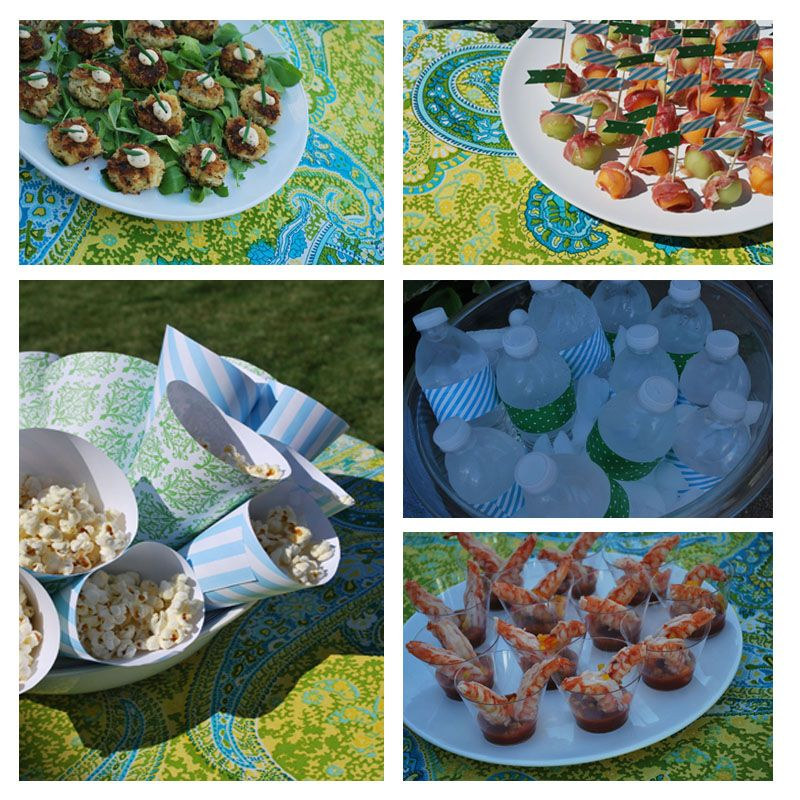 Southern Wedding Reception Food: Image Detail For -Summer Southern BBQ Anniversary Party