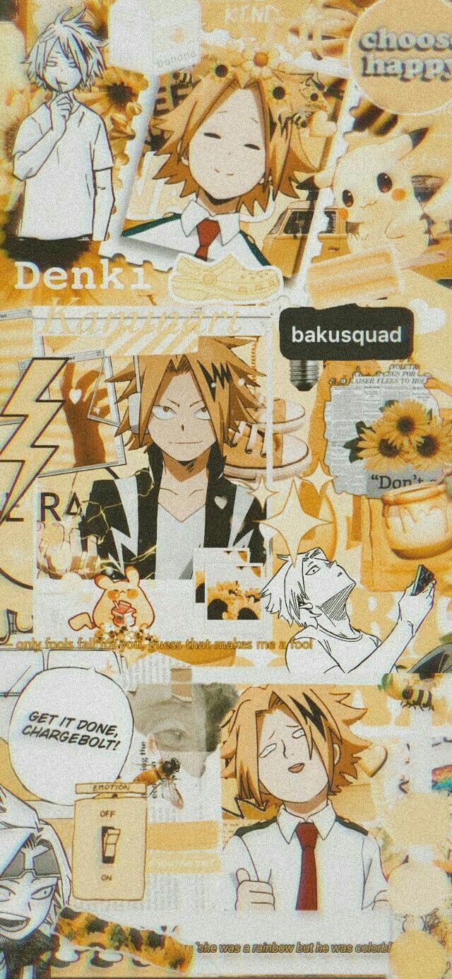 Fondos BNHA  - #13 •Kaminari Denki•