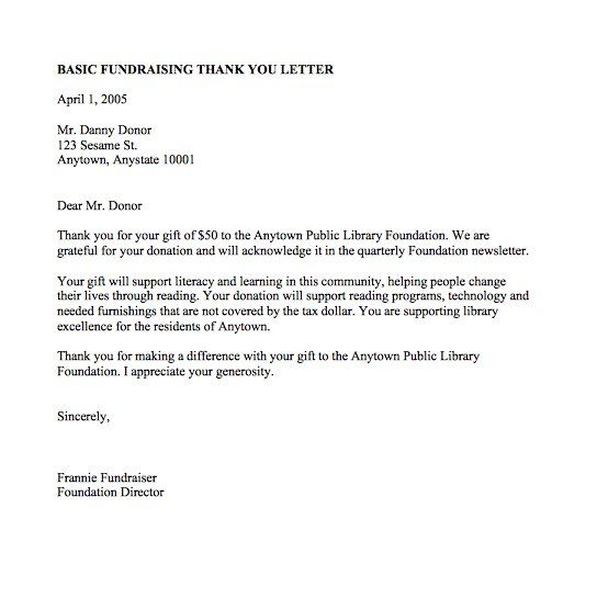 thank you letter templates for scholarship donation boss and the - fund raiser thank you letter