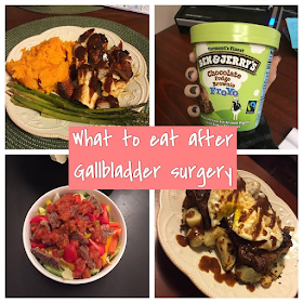 Gallbladder Surgery Week one : Recovery and what to eat