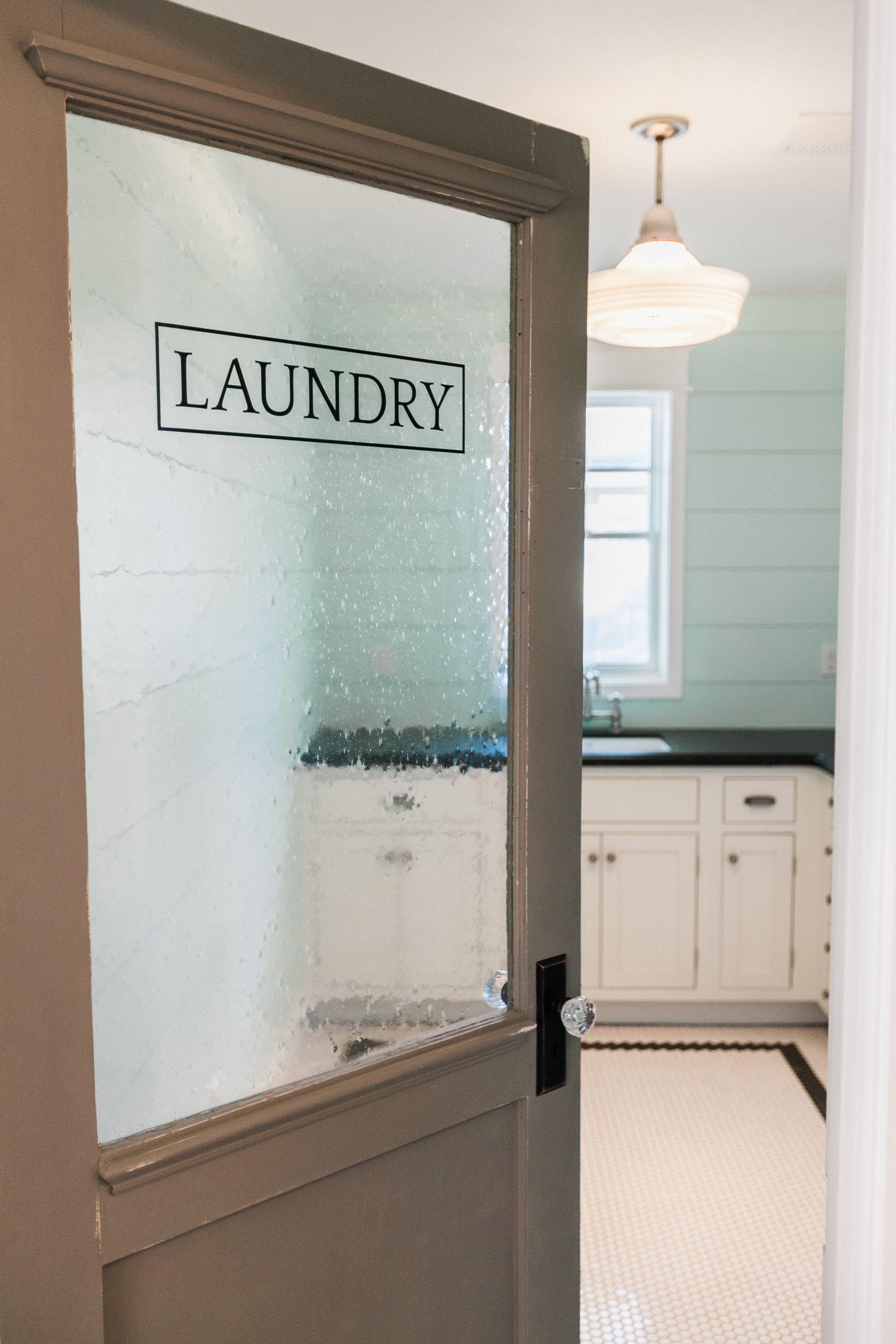 Custom laundry door by rafterhouse rafterhouse for Sliding laundry door