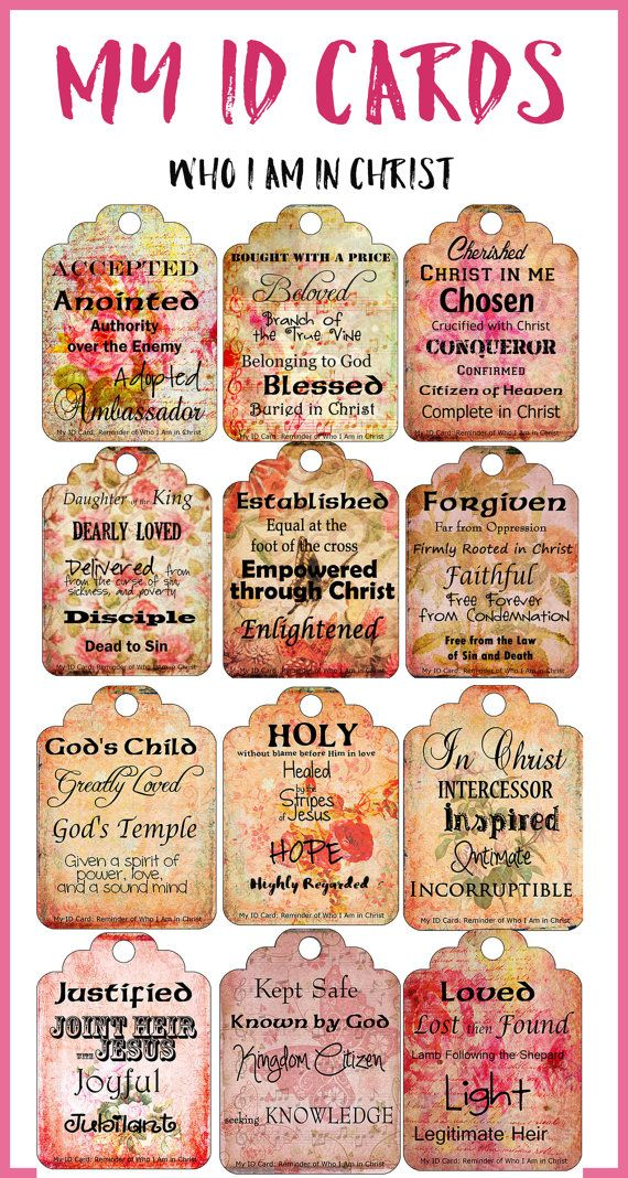 Canny image with printable scripture cards