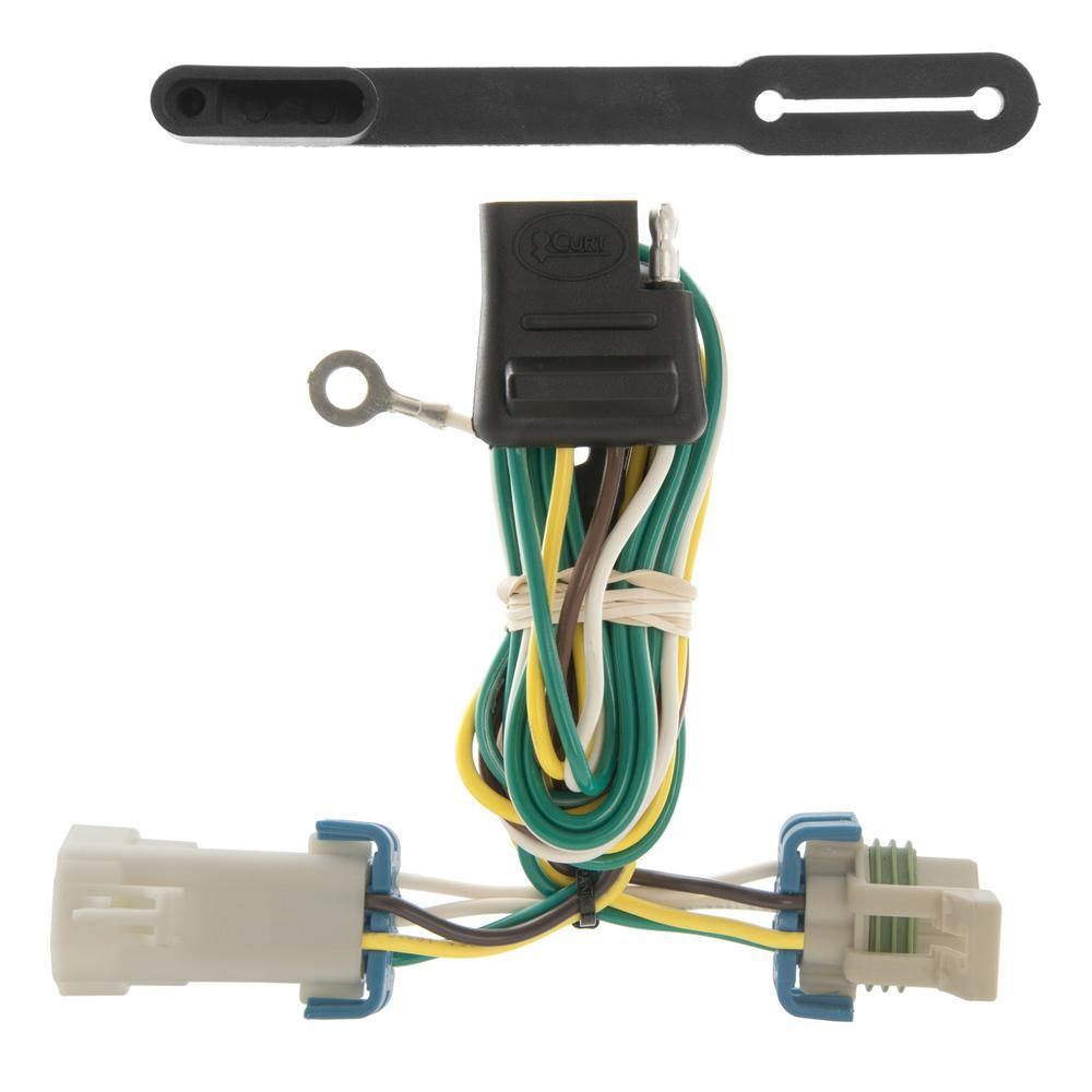 hight resolution of curt custom wiring harness 4 way flat output