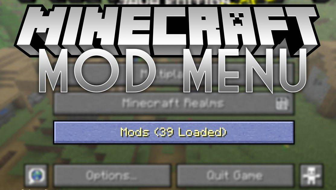 Mod Menu 1 14 3 View The List Of Mods You Have Minecraft Mod Minecraft Mods