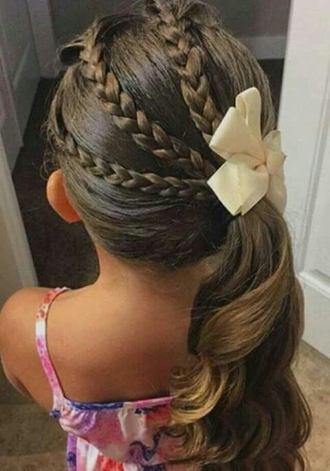 Braids Girl haircuts Girl hairstyles