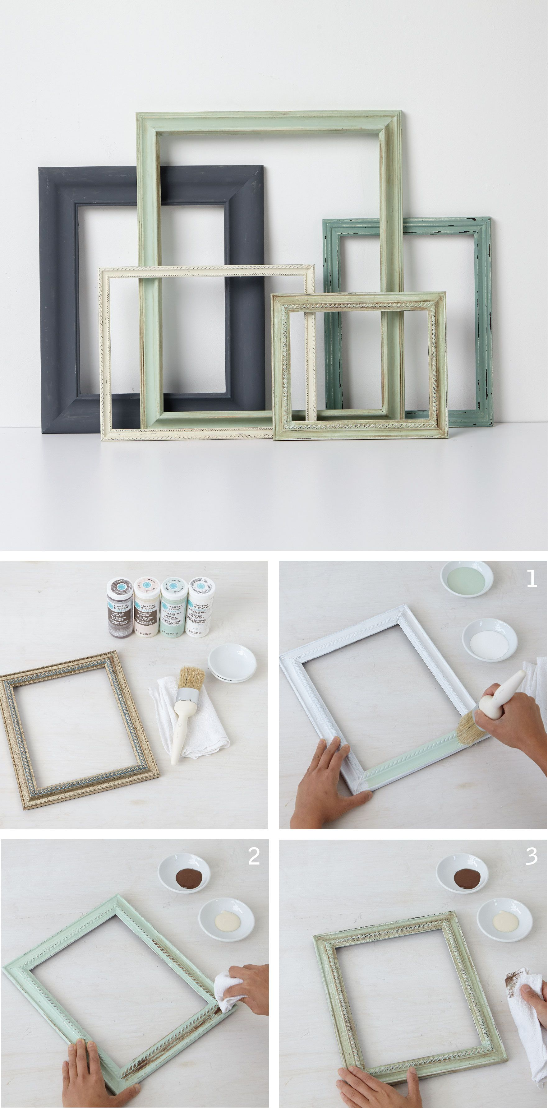 Vintage frames martha stewart crafts vintage decor and martha transform plain picture frames into vintage inspired masterpieces with martha stewart crafts vintage decor paint try using vintage decor wax for a jeuxipadfo Choice Image