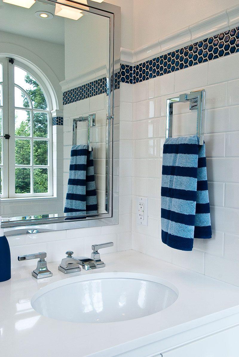 Tamara Mack Design custom bathroom | Bathrooms | Pinterest | White ...