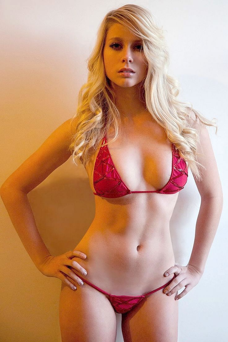 Sexy Blondehaired Blonde Beautiful Girl Wet Stock Photo