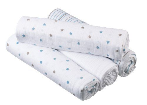 Aden By Aden Anais Swaddleplus Oh Boy 4 Pack 34 95 Muslin 44 X 44 Greatest Thing 1