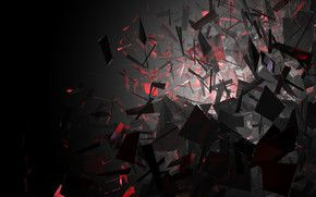 Black And Red Shapes Hd Wallpaper Red And Black Wallpaper Dark Red Wallpaper Dark Wallpaper
