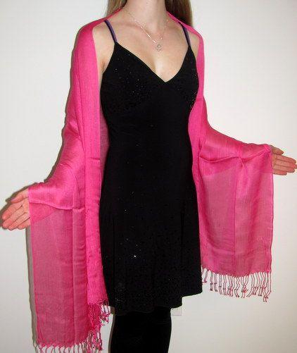 Pink Shawl
