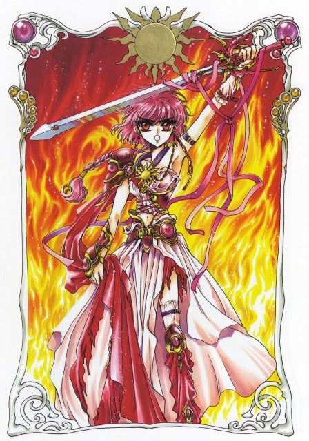 Hikaru Shidou (獅堂 光Shidō Hikaru) is a fictional character from the anime/manga series Magic...