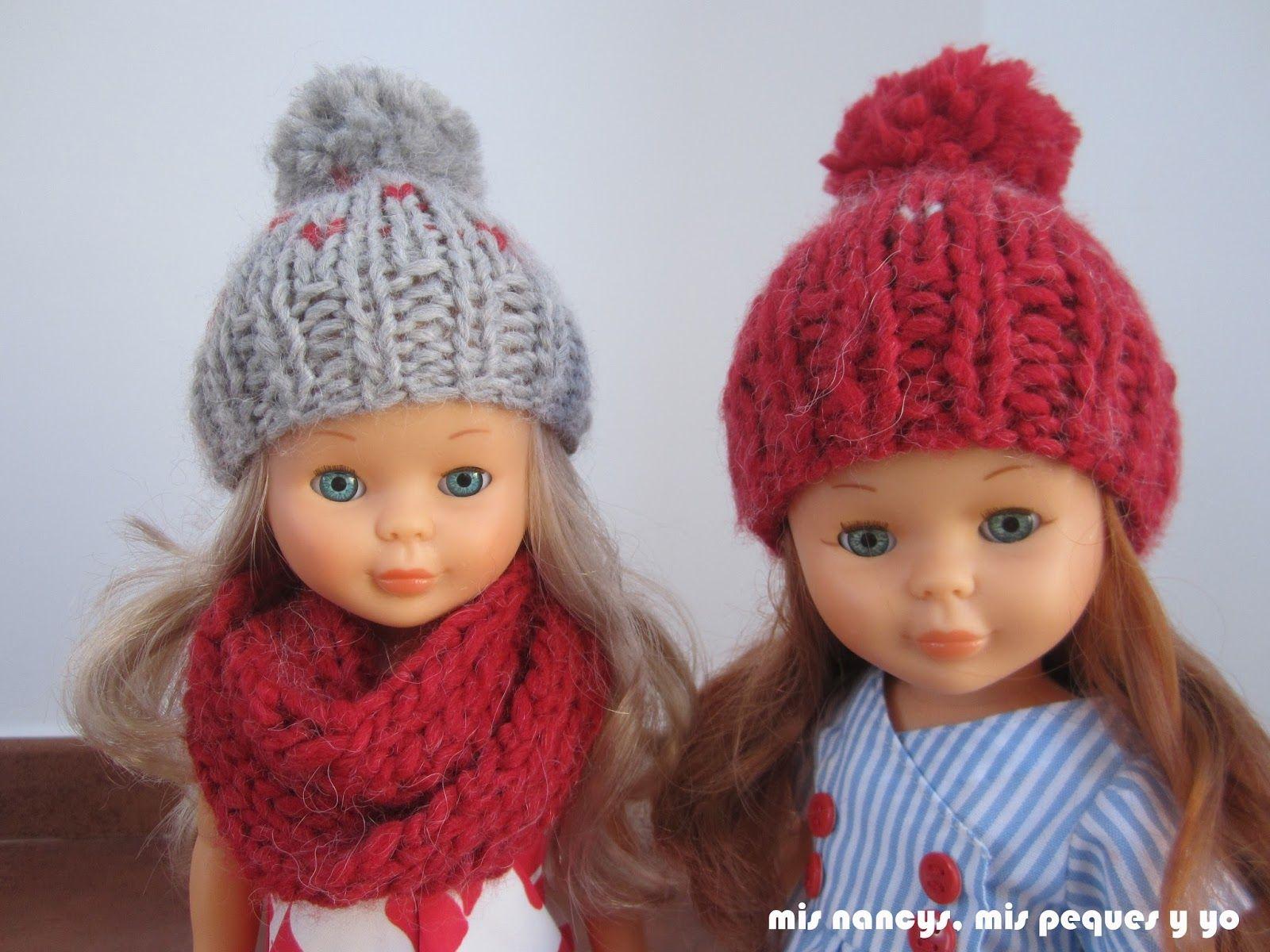 Tutorial  Gorros de lana para muñecas  4303428d82c