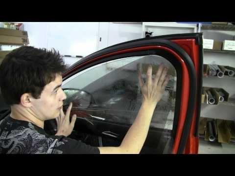 Window Tint Instructional Tinted Windows Car Automotive Repair Auto Repair