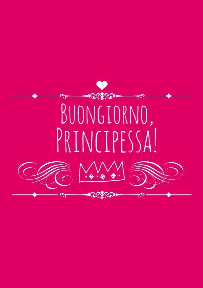buongiorno principessa 3 luisa bonjour