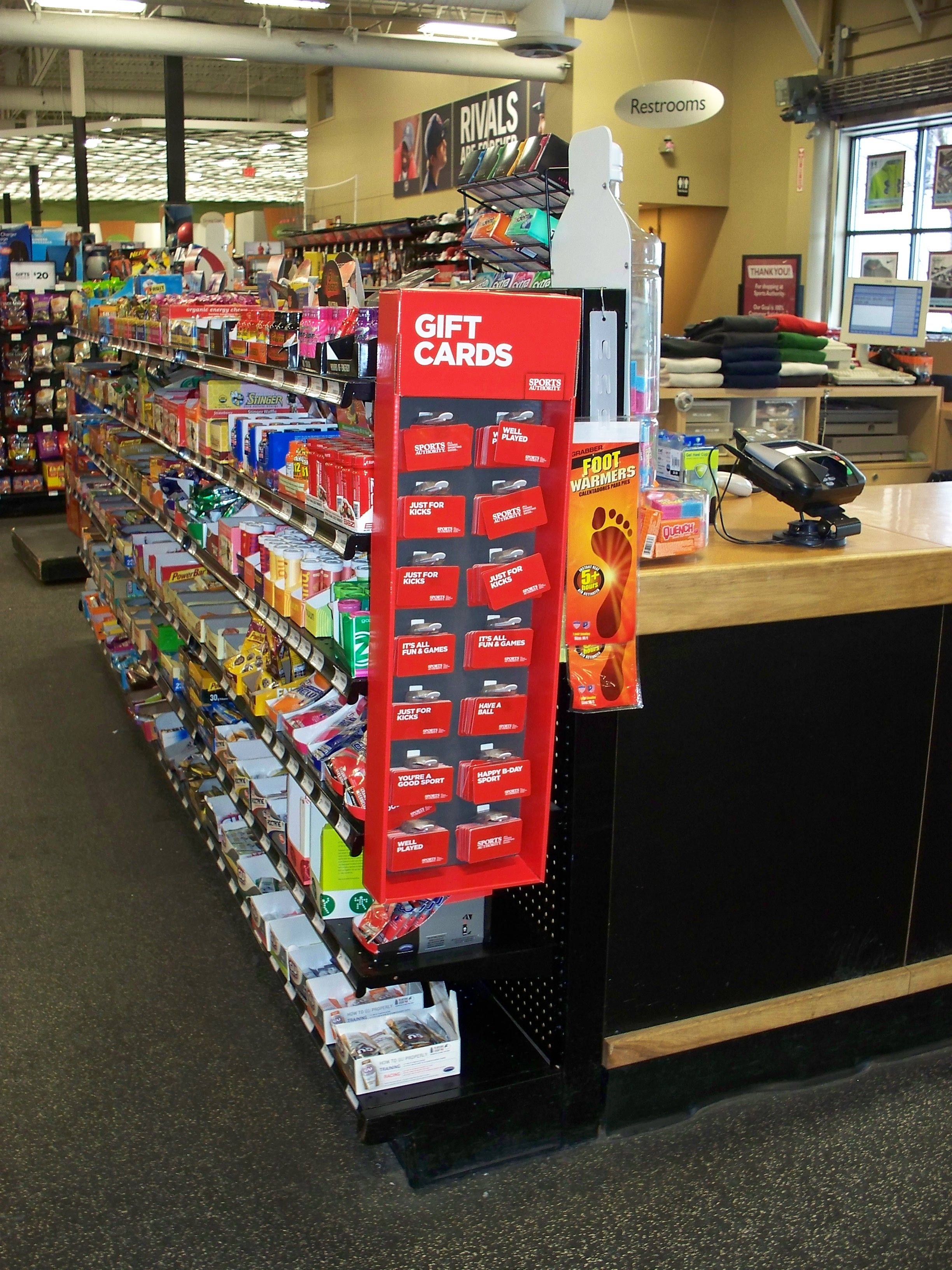 Gift Cards Are A Great Impulse Idea At Checkout See Other Display Ideas For Gift Cards On Our Website Gift Card Displays Cardboard Display Display Cards