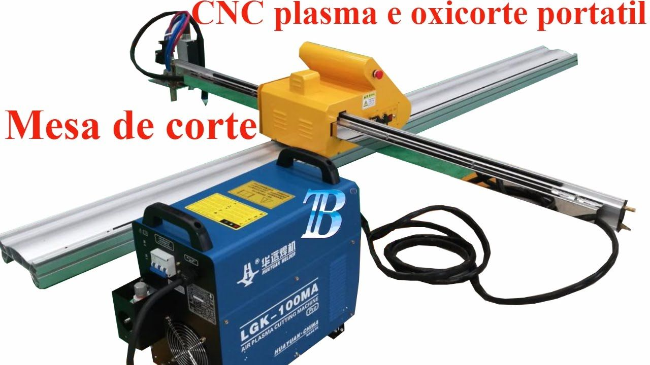PANTOGRAFO CNC PORTATIL CORTE CON PLASMA Y OXICORTE | Welding ...