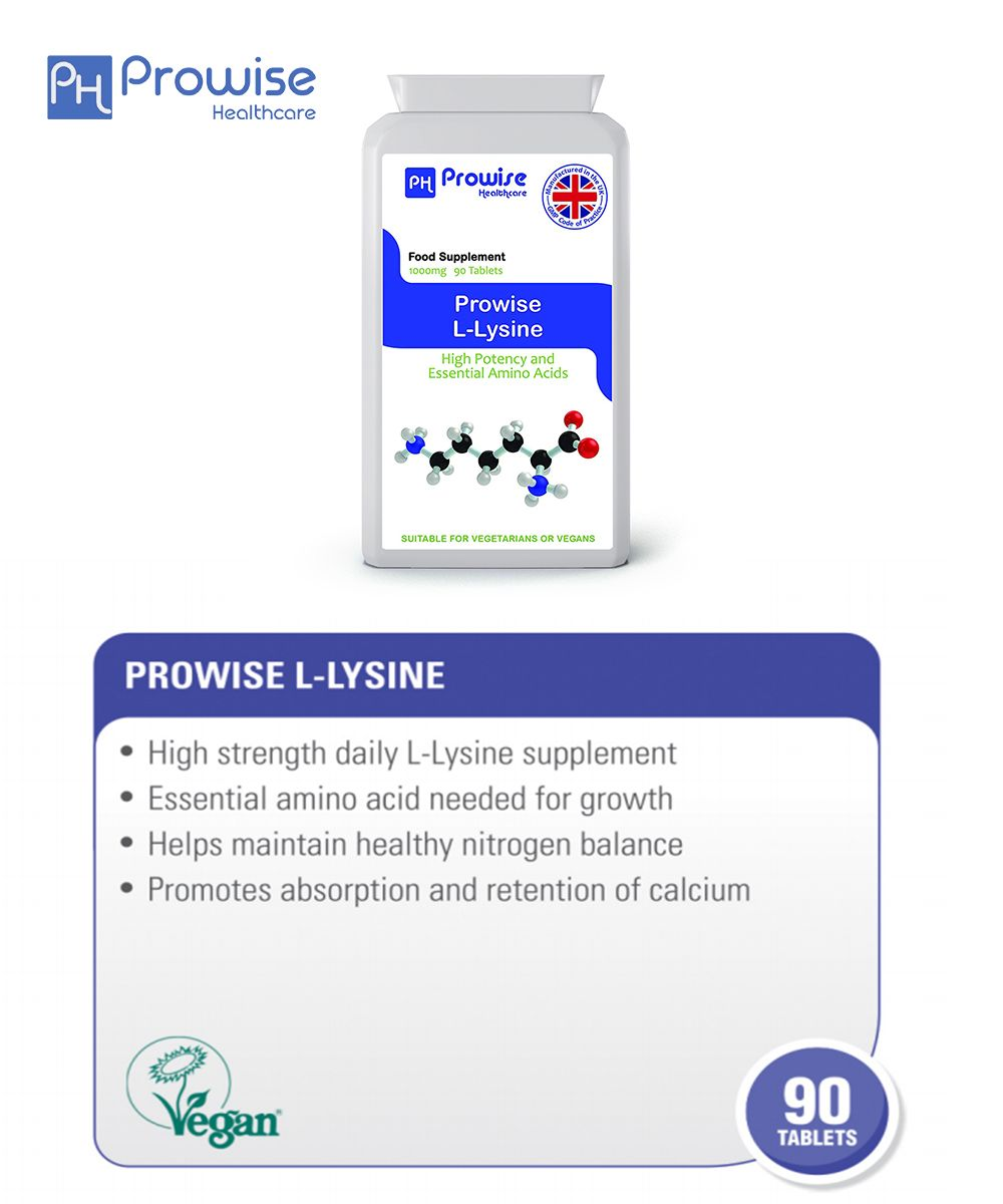 Prowise L-Lysine #prowisehealthcare #l-lysine