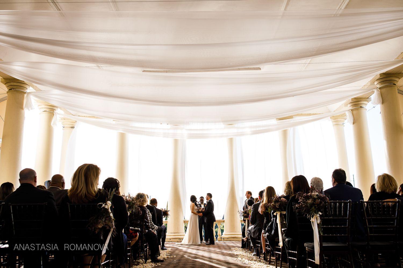 Wedding ceremony at Water Works | Philadelphia best ceremony ...