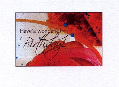 Birthday Cards Paintings ~ Colorful fun birthday cards paintings by mickey baxter spade