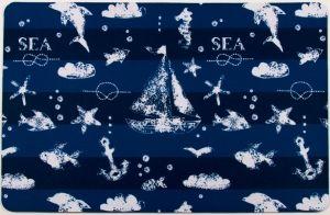 Blue Sea Mix Floor Mat