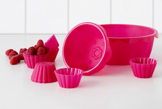 Sockerkaka Baking Cup Pink Ikea Horno Electrodomesticos
