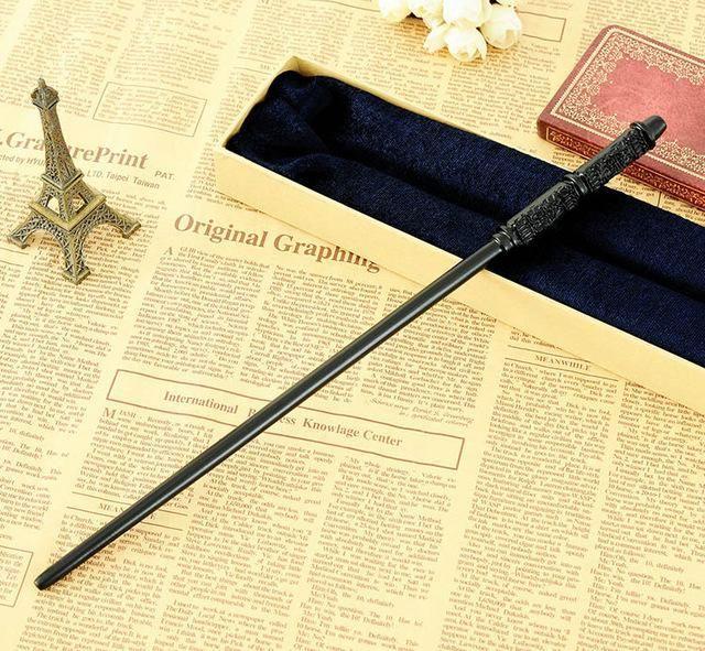 Newest Iron Core Harry Potter Elder Magic Wand 36cm Dumbledore Scripture Edition