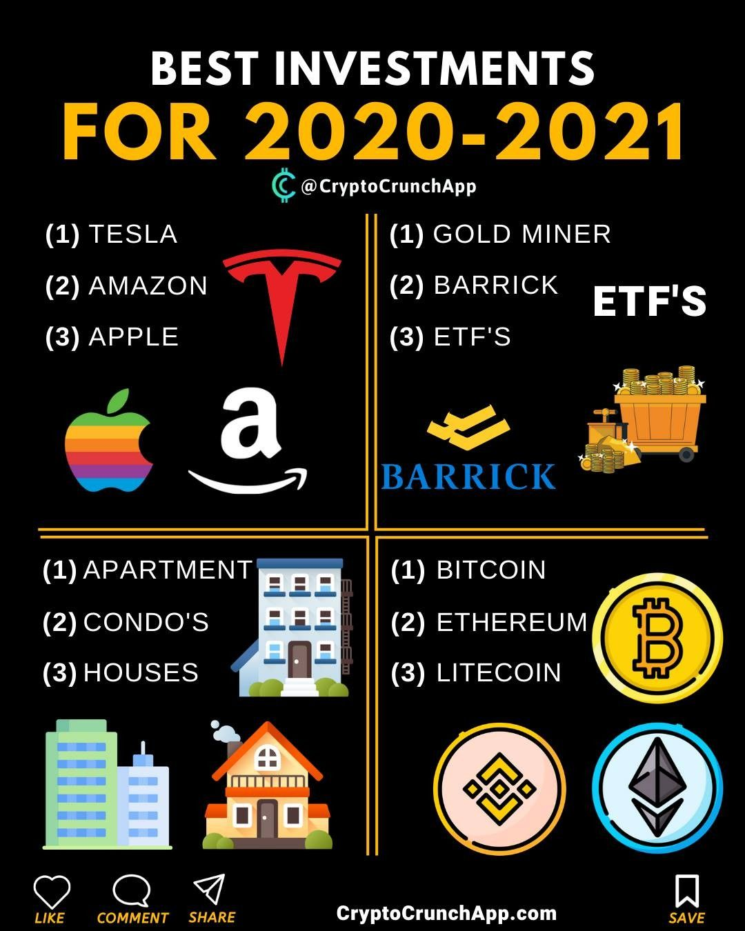 cryptocurrency to invest in 2021