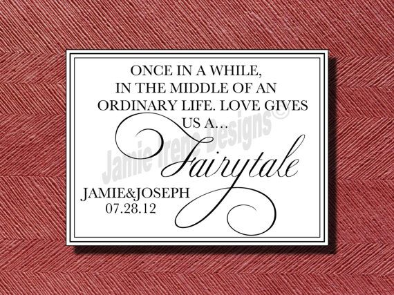 Wedding Fairy Tale Quote Sign Etsy Fairytale Quotes Wedding Anniversary Quotes Anniversary Quotes