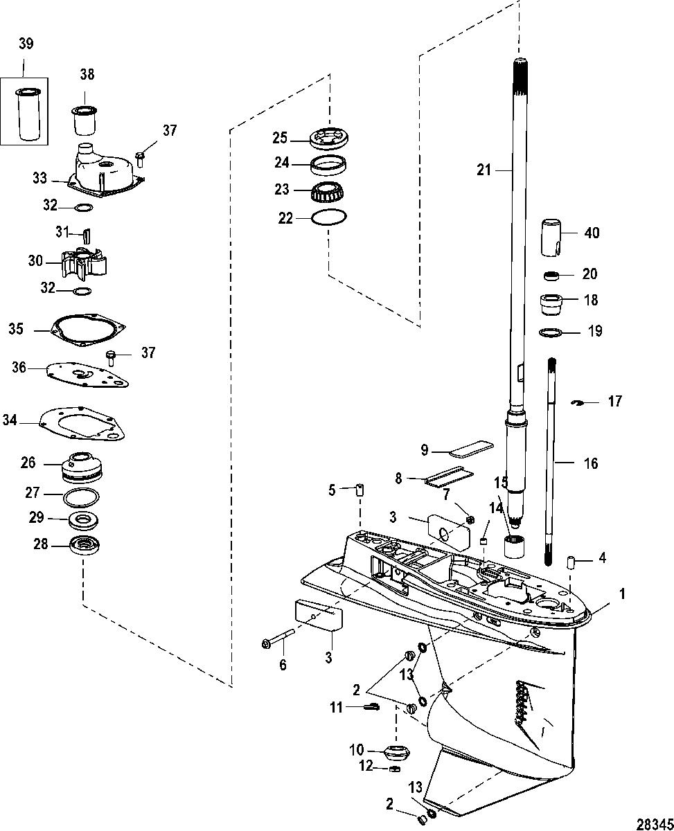 Mercury 40 Efi 3 Cyl 4 Stroke 1c043417 Up Perfprotech Com Mercury Mercury Marine Boat Supplies