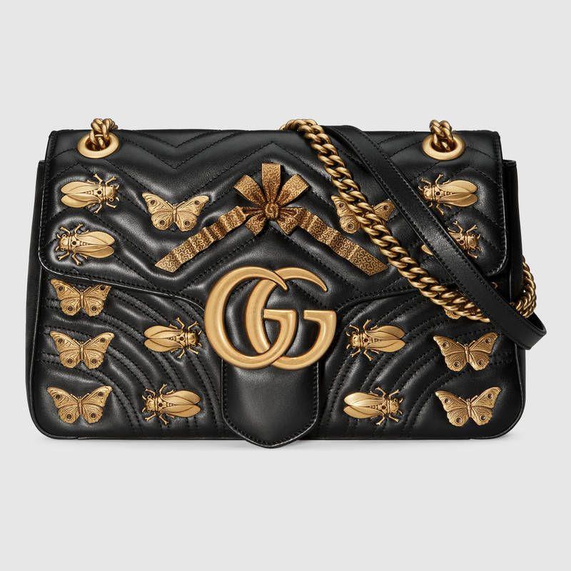 GG Marmont medium matelassé shoulder bag  006ff0293fc08