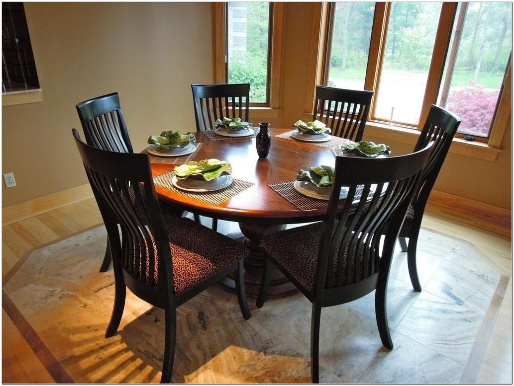 54 Inch Round Pedestal Dining Table Set Round Kitchen Table Set Round Dining Room Table Dining Room Table Set