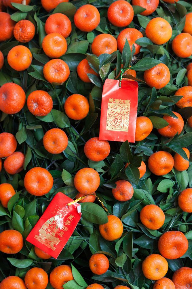 Why Mandarin Orange Or Kumquat Trees Chinese New Year Decorations Chinese New Year Chinese New Year Crafts