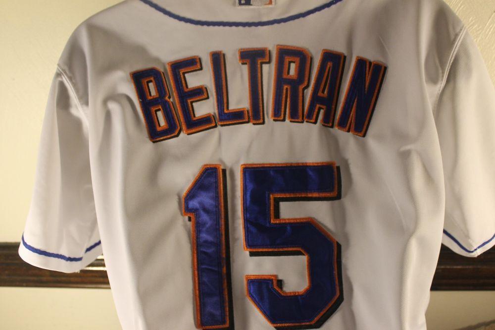 Mlb New York Mets Jersey Majestic Carlos Beltran Authentic