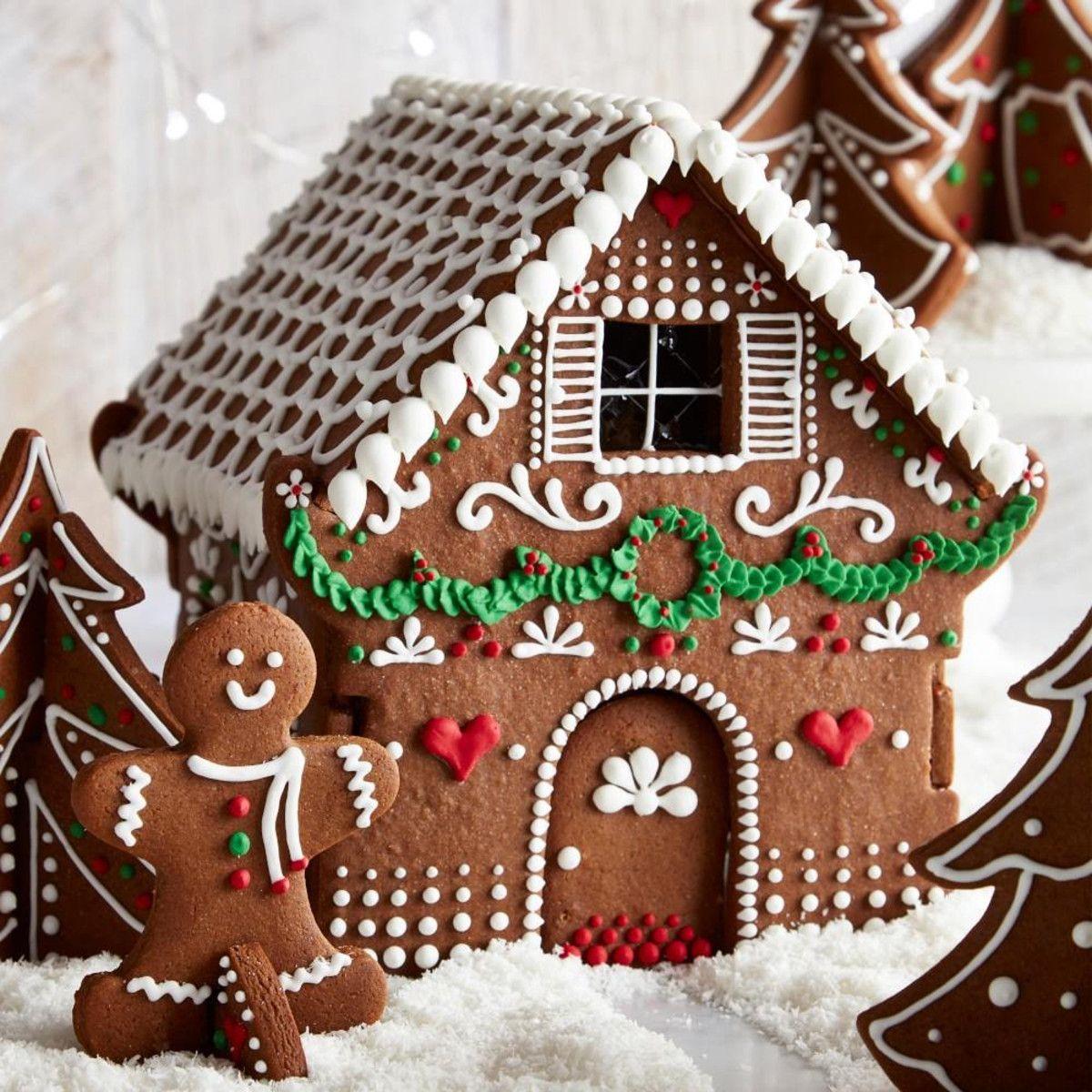 Image Result For 3d Gingerbread