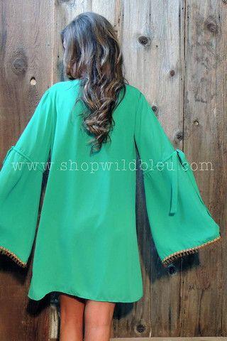 The Brinn | Wild Bleu, Belle sleeve Basically Me dress