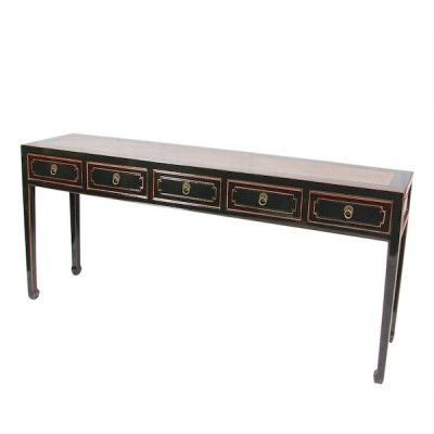 Asian Extra Long Console Table Home Extra Long Console
