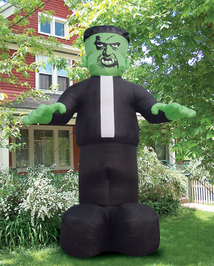 giant monster airblown inflatable scary yard decor prop haunted 16 halloween - Blow Up Halloween Decorations