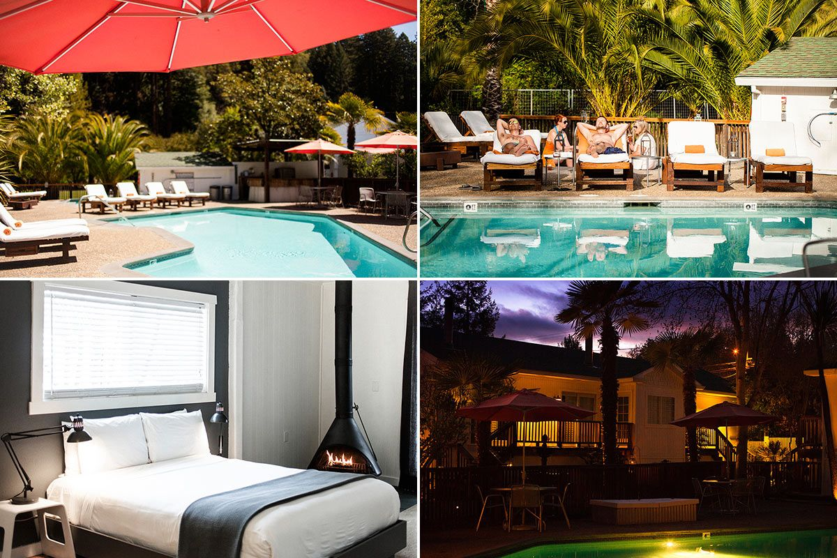 Who You Calling Cheap 20 Great West Coast Hotels For Less Than 250 A Night Fathom West Coast Hotel Coast Hotels Hot Tub Outdoor