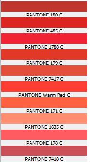 coral pantones pantone color red graphite grey dark