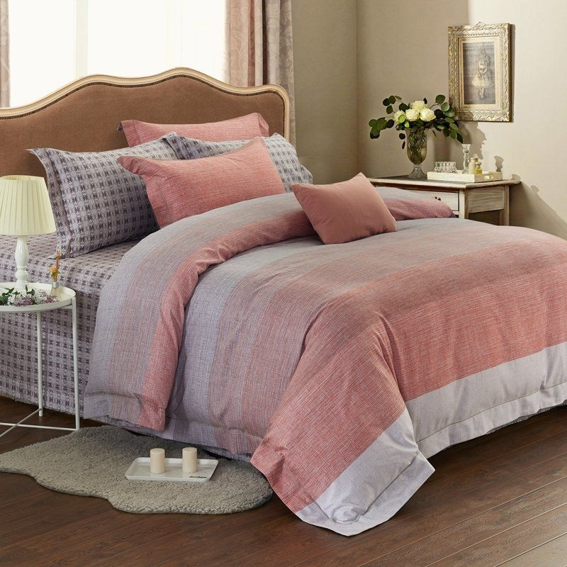Coral Gray Bedding Bedspread Bedroom Sets Coral And Grey