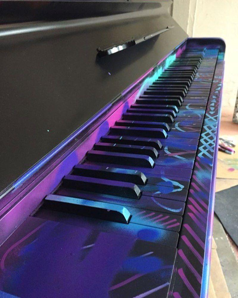 6 431 Curtidas 50 Comentarios Pianoworldwide Pianoworldwide No Instagram Spray Painted Piano Matej Jovanovic Pi In 2020 Painted Pianos Piano Decor Piano Art