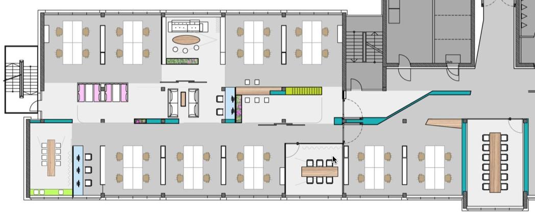 Scrum Office Layout Buscar Con Google Office Layout Software Development Office Design