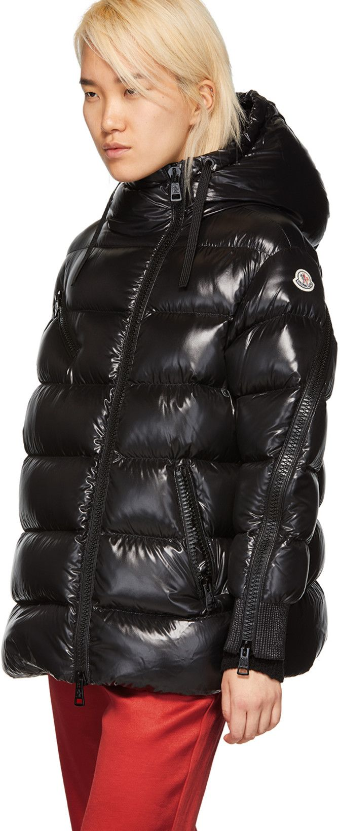 Moncler Black Down Liriope Jacket Jackets, Black down
