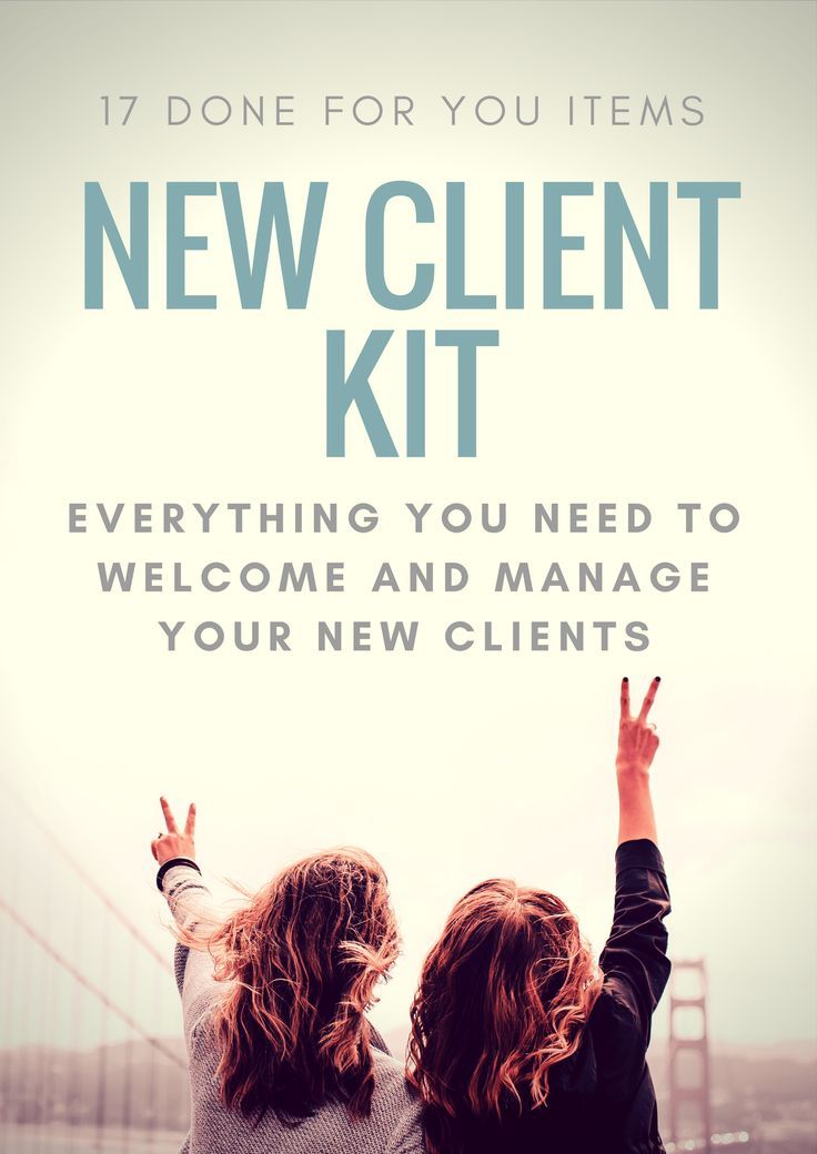 New Client Kit   Done For You Tools  Payment Agreement Goals