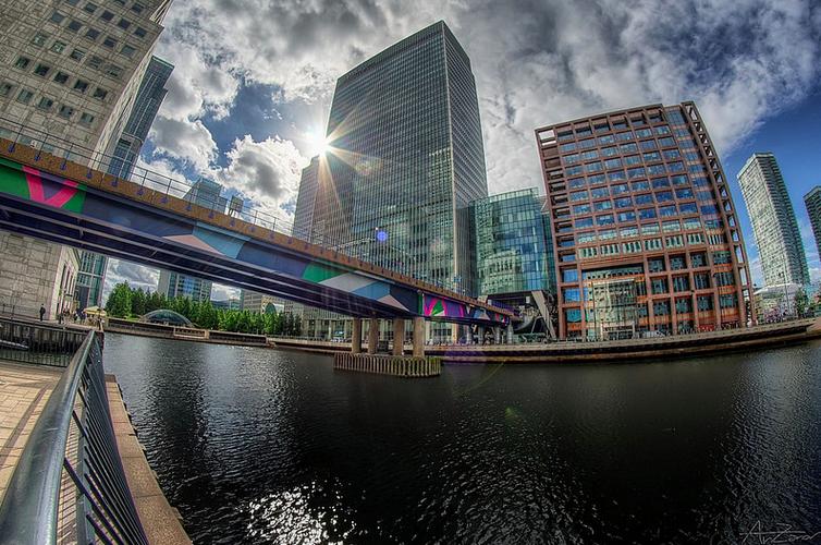 London Docklands, Photo: Andrea Zanovello
